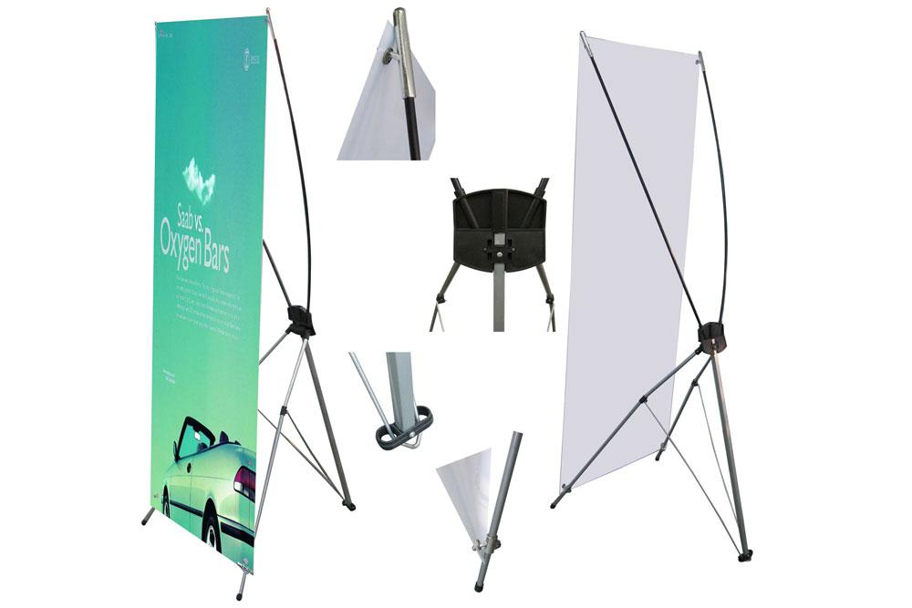 X-Banner Stand display & promotional items tradefirst sri lanka